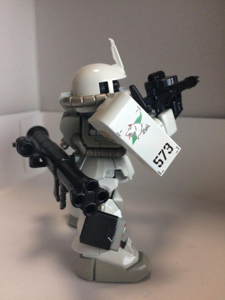 マツナガ専用高機動ザク風SDザクⅡ アピールショット3