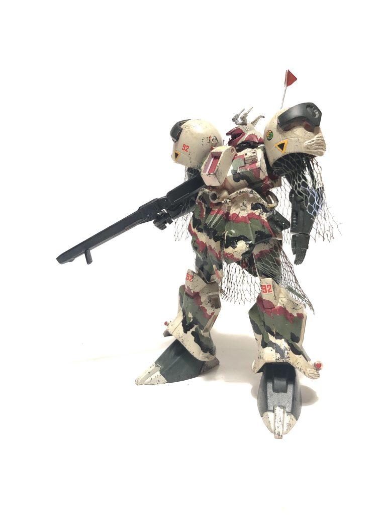 旧キット「陸戦型R・ジャジャ指揮官仕様」