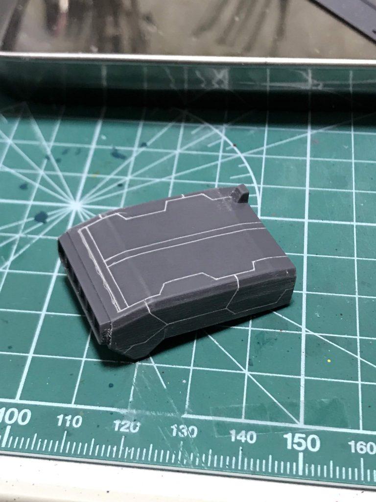 HGUCスタークジェガン風スタークジェガン 制作工程2