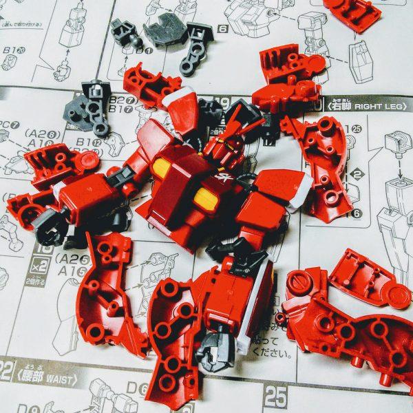 Amazing Red Warrior