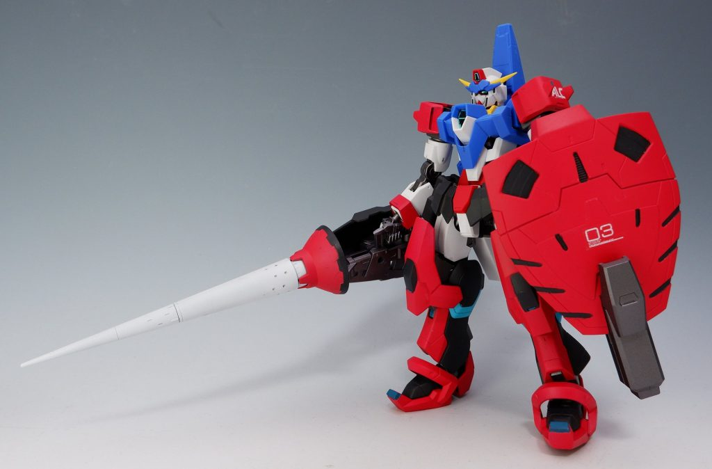 ガンダムAGE-3 ファランクス アピールショット1