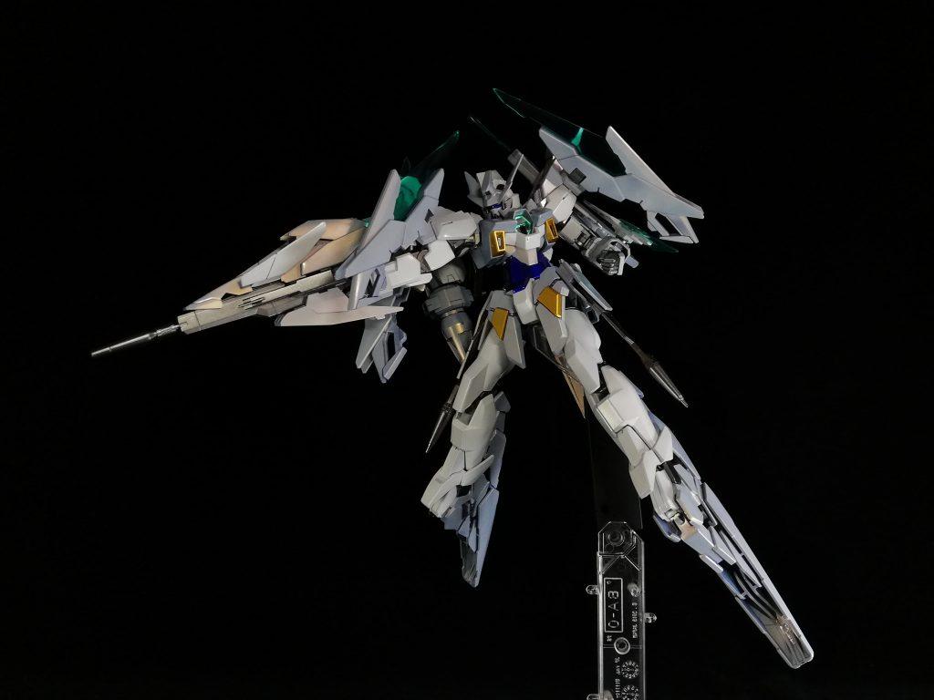ガンダムAGEⅡマグナムSV(キャンディ塗装) アピールショット3