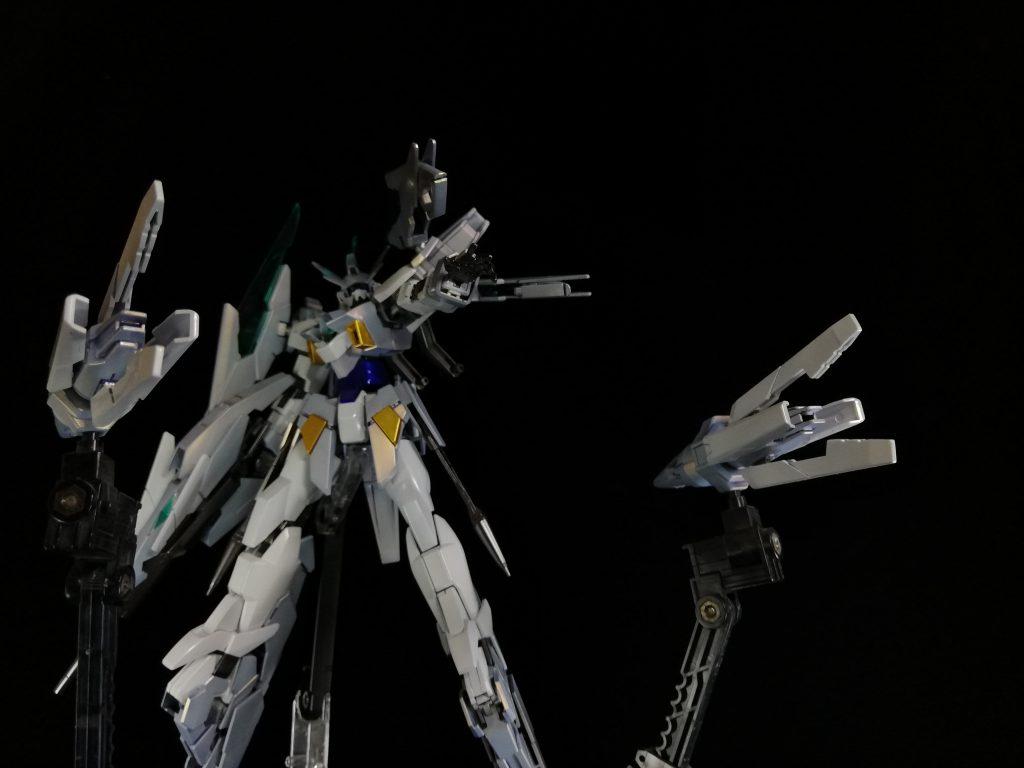 ガンダムAGEⅡマグナムSV(キャンディ塗装) アピールショット5