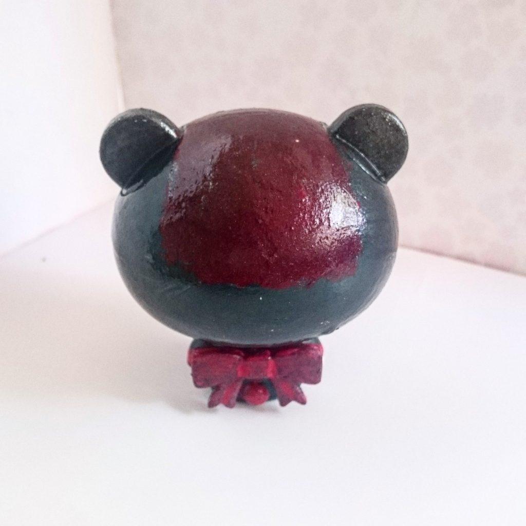 Custom pretty guy ガシャポン (red) アピールショット2
