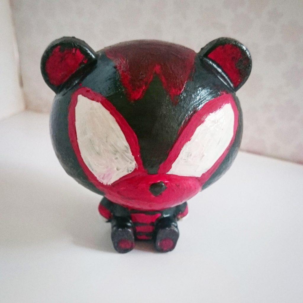 Custom pretty guy ガシャポン (red)