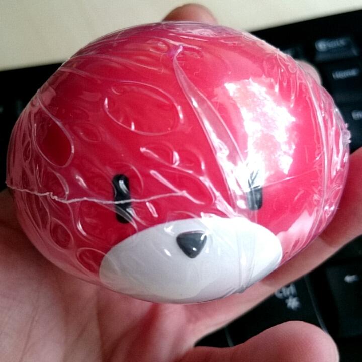 Custom pretty guy ガシャポン (red) 制作工程2