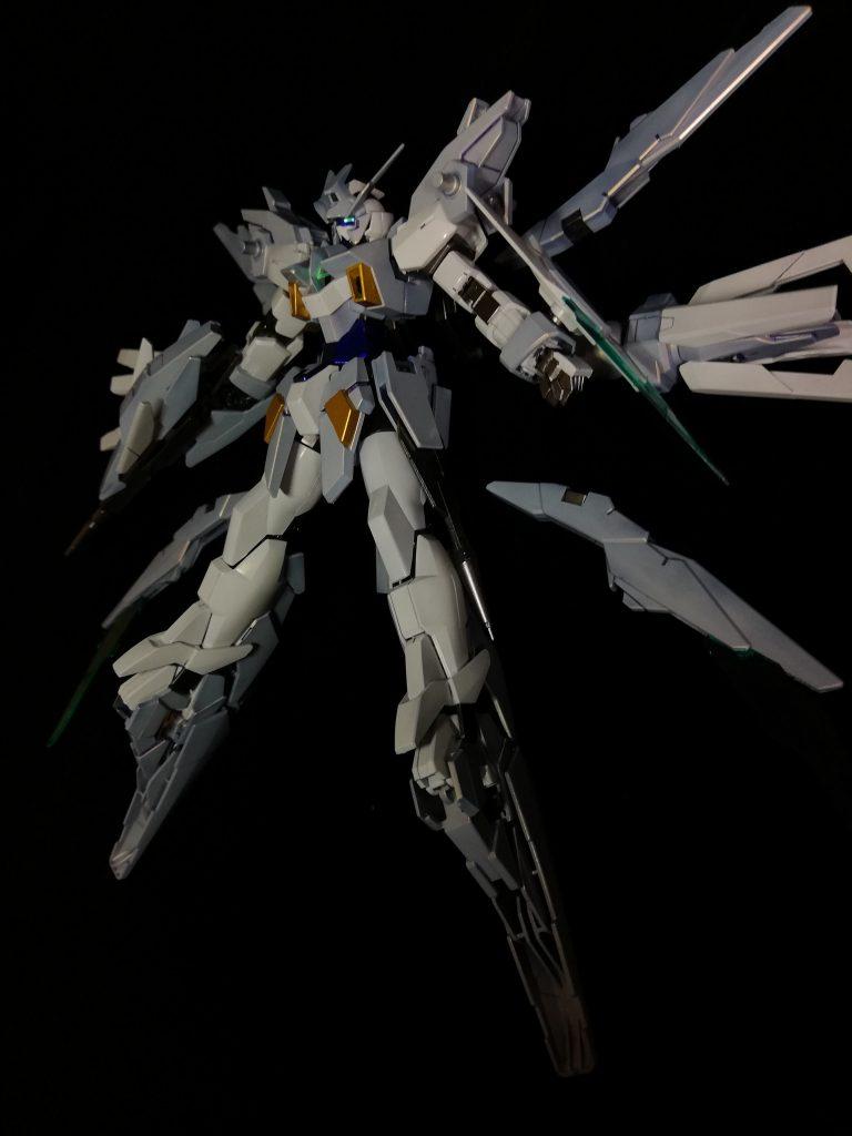 ガンダムAGEⅡマグナムSV(キャンディ塗装) アピールショット8