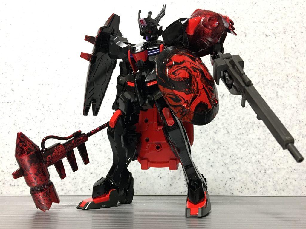 暗黒聖騎士・ガンダムウヴァル アピールショット1