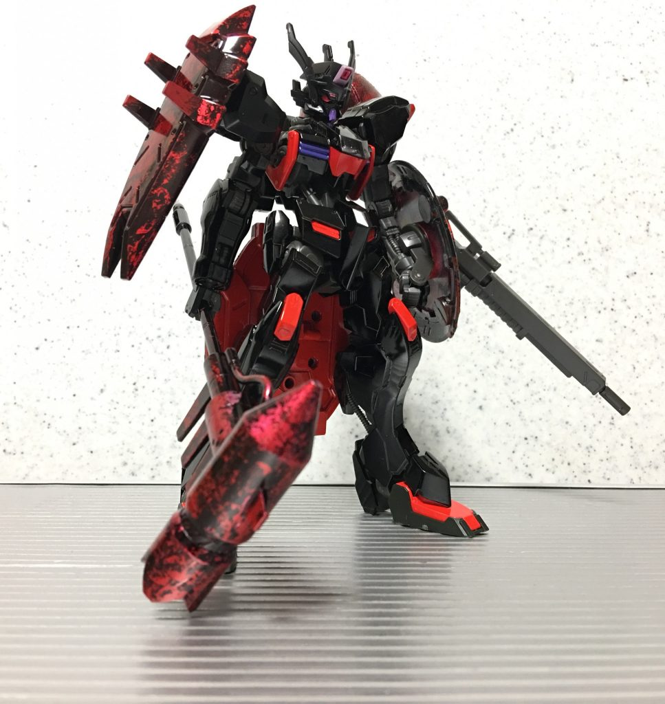 暗黒聖騎士・ガンダムウヴァル アピールショット2