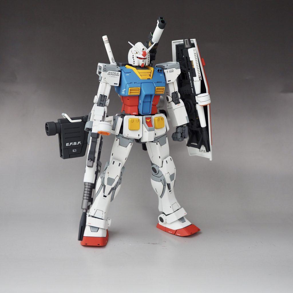 RX-78-02 ガンダム (THE ORIGIN オリジン)