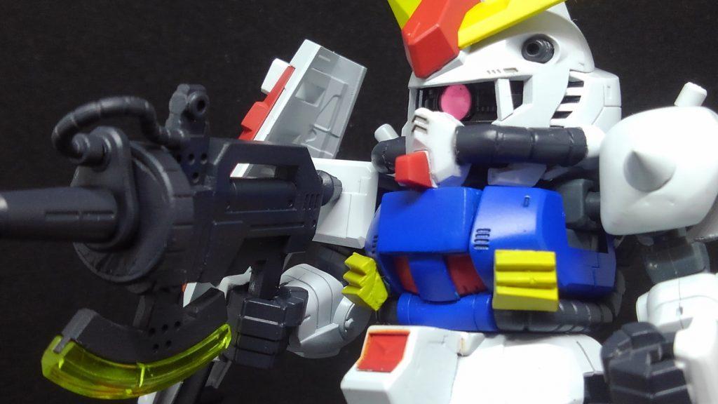 SD にせガンダム(クロスシルエット改造 アピールショット3