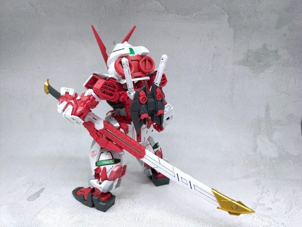 SD Gundam Astray Red Frame 制作工程2