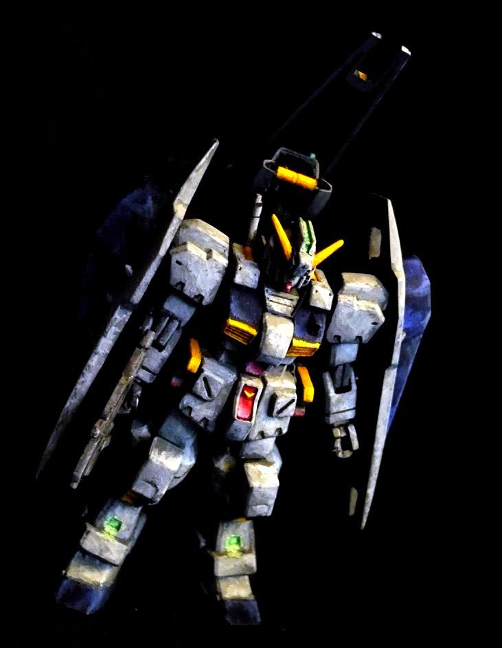 1/200 ガンダムTR-1[ヘイズル改] イラスト風塗装 アピールショット5