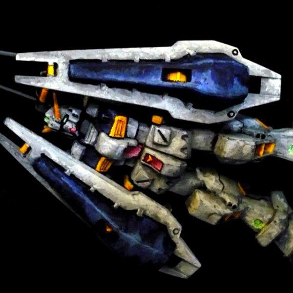 1/200 ガンダムTR-1[ヘイズル改] イラスト風塗装