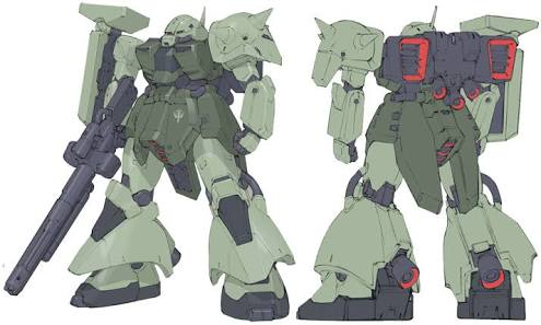 AMX-011G ZAKU-Ⅲ 【 ZEON-MARS type】陸戦型ザクⅢ 火星ジオン仕様 アピールショット1