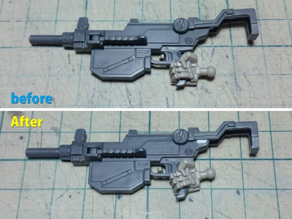 RX-78-01[N] 局地型ガンダム 北米戦仕(改) 制作工程3