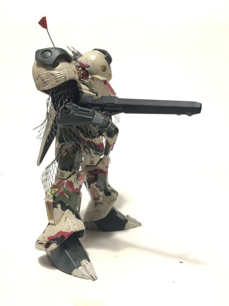 旧キット「陸戦型R・ジャジャ指揮官仕様」 アピールショット2