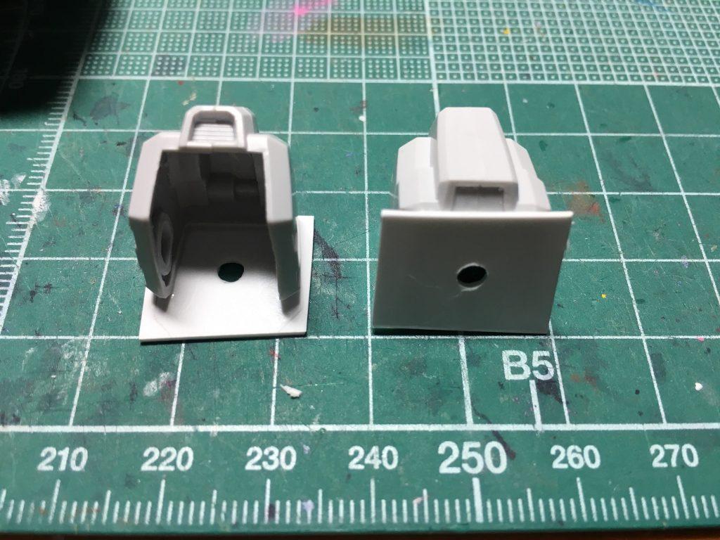 ガンダムTR-1 ヘイズル改 / Gパーツ[フルドド] 制作工程3