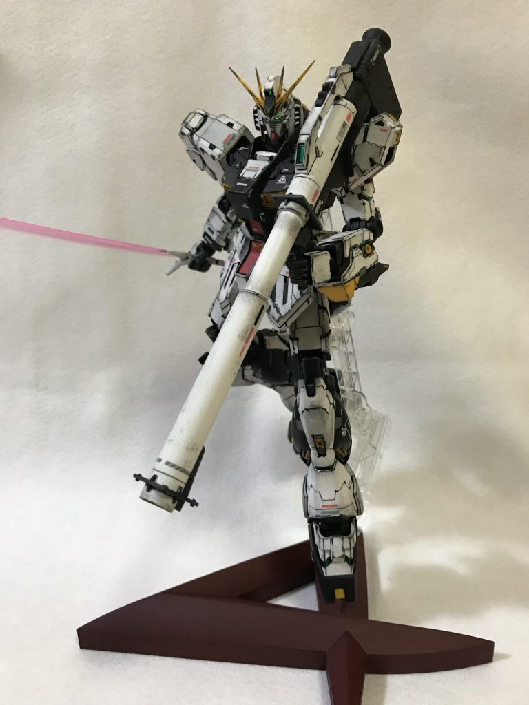 MG1/100 RX-93 νガンダム ver.KA ウェザリング 制作工程1