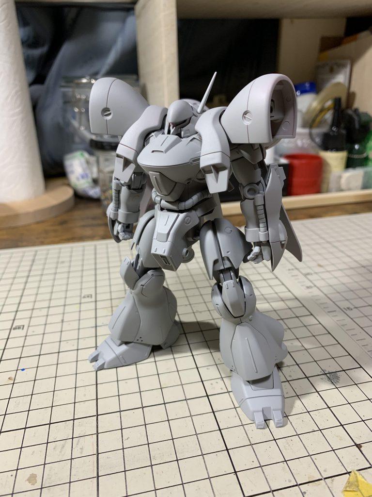 HG ガーベラ・テトラ 制作工程7
