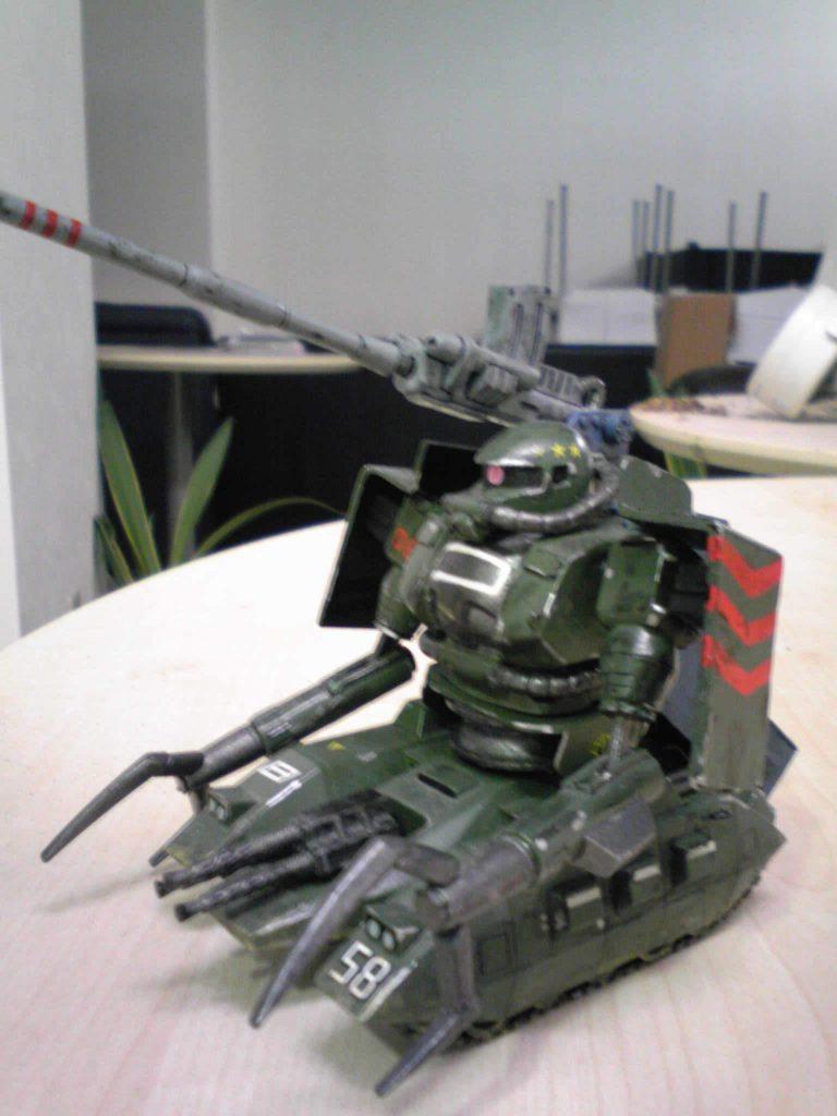ザクタンク アピールショット5