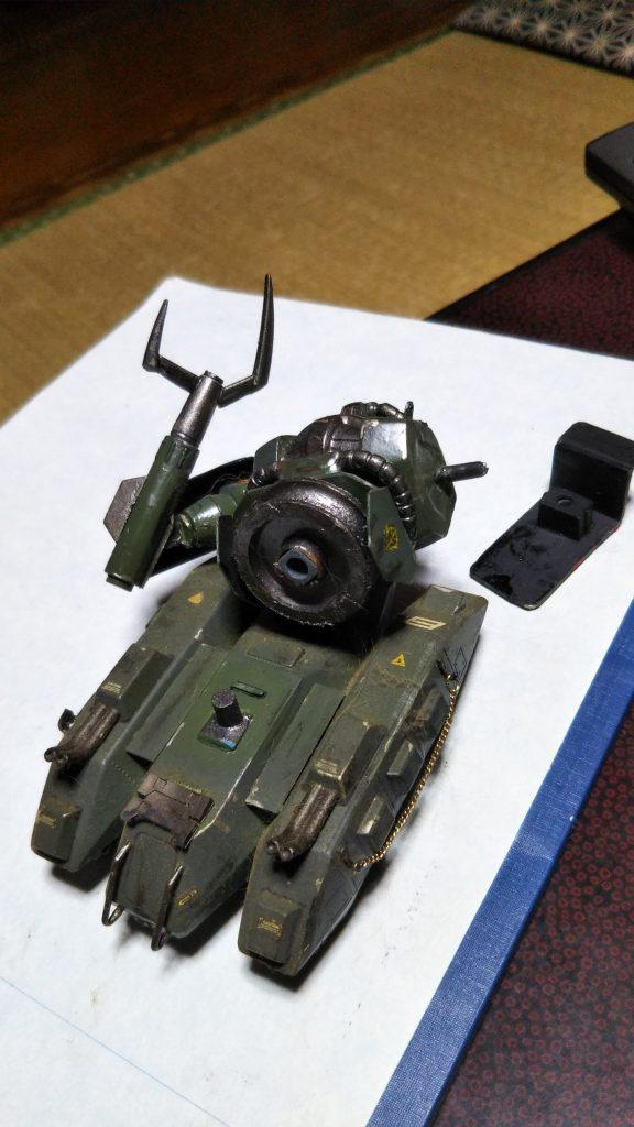 ザクタンク アピールショット3
