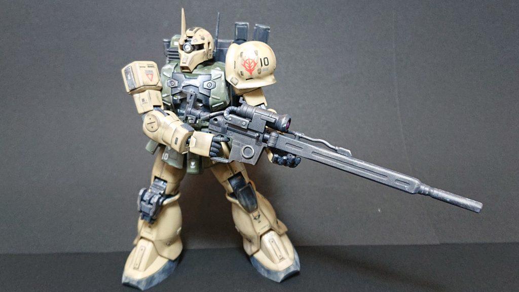 MS-05L 【ZAKU-Ⅰ SNIPER TYPE 】ザクⅠ スナイパータイプ アピールショット1