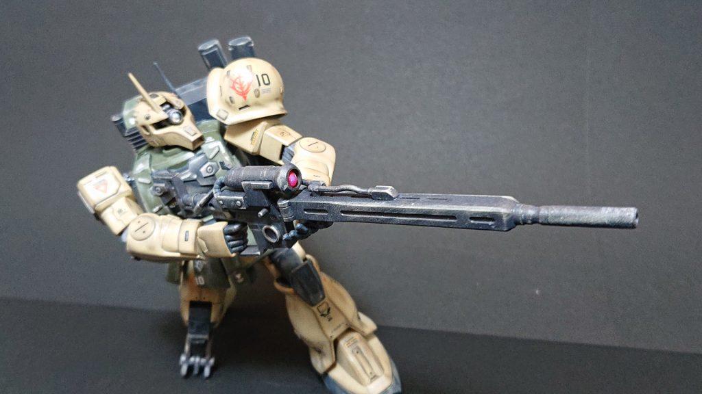 MS-05L 【ZAKU-Ⅰ SNIPER TYPE 】ザクⅠ スナイパータイプ アピールショット3