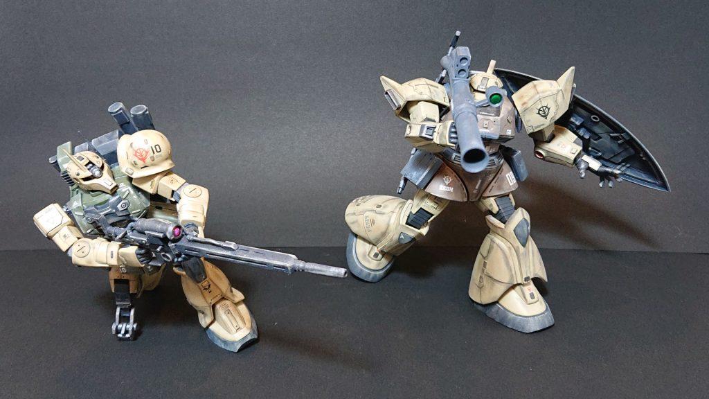 MS-05L 【ZAKU-Ⅰ SNIPER TYPE 】ザクⅠ スナイパータイプ アピールショット6