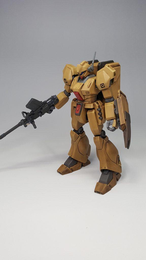 陸戦型ジェガン (木目調風) アピールショット1