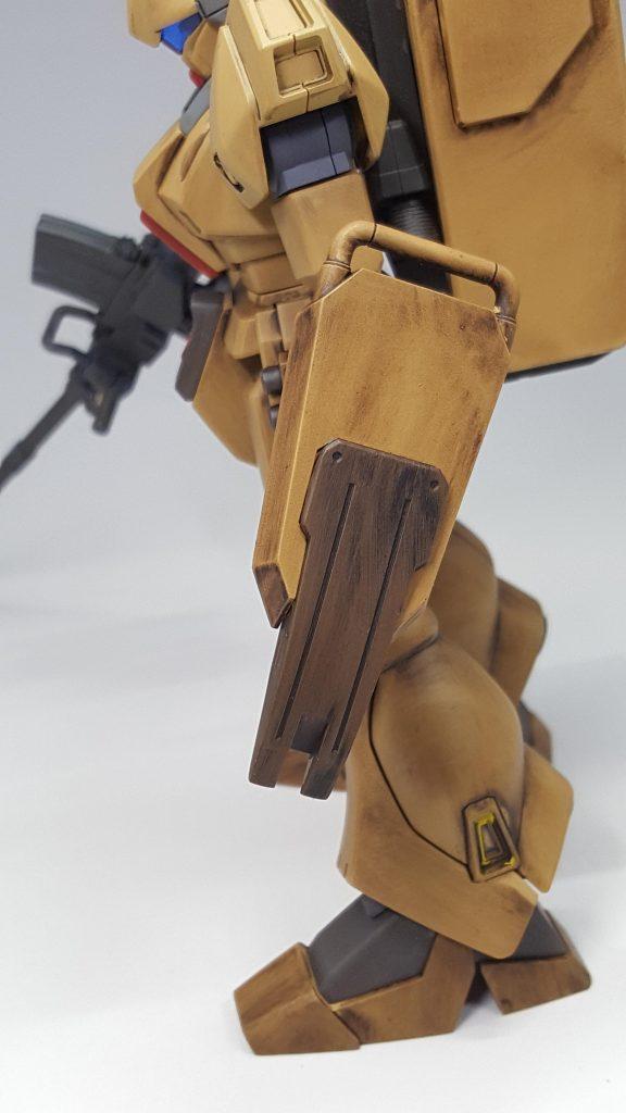 陸戦型ジェガン (木目調風) アピールショット3