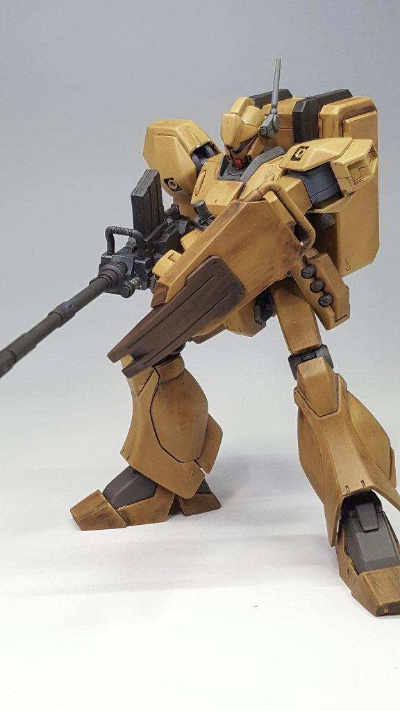陸戦型ジェガン (木目調風) アピールショット4