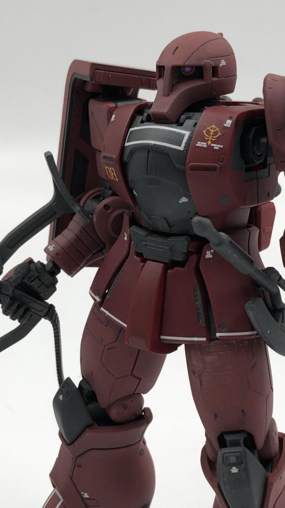 MS-05S シャア専用ザクI アピールショット2