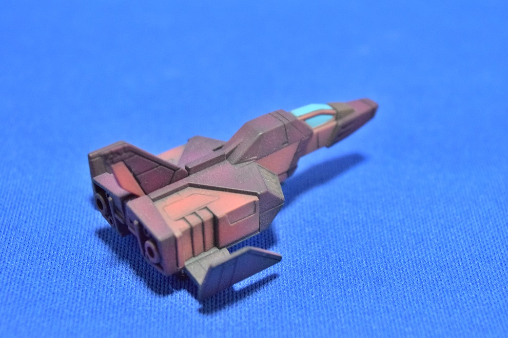 HGUC RX78/C.A キャスバル専用ガンダム 制作工程3