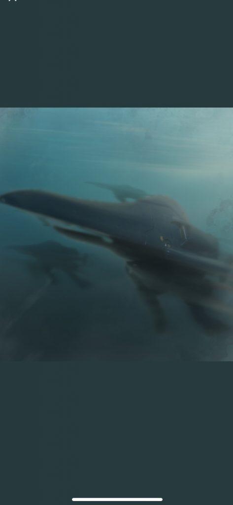 海の中の魔物