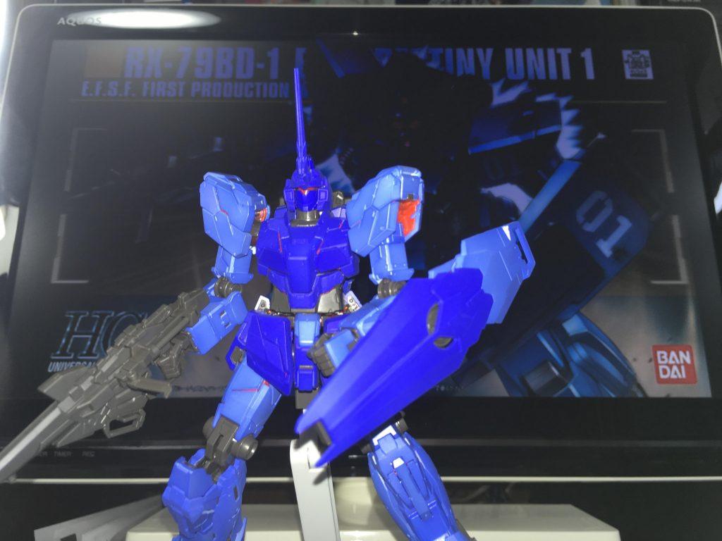 「蒼を受け継ぐ者」RX-0 試作0号機