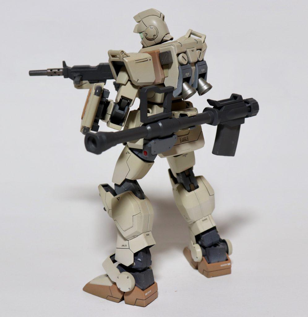 陸戦型ジム 制作工程2