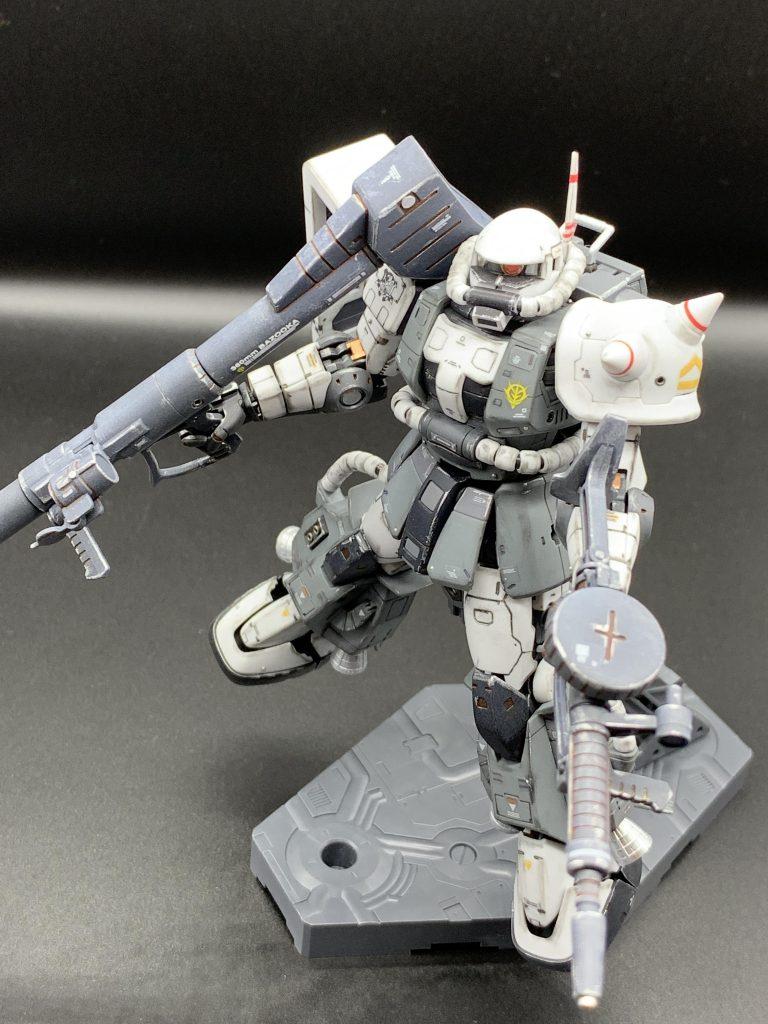 RG エリック・マンスフィールド専用ザクⅡ アピールショット1