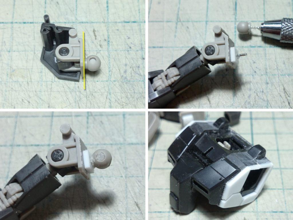 RX-78-01[N] 局地型ガンダム 北米戦仕(改) 制作工程1
