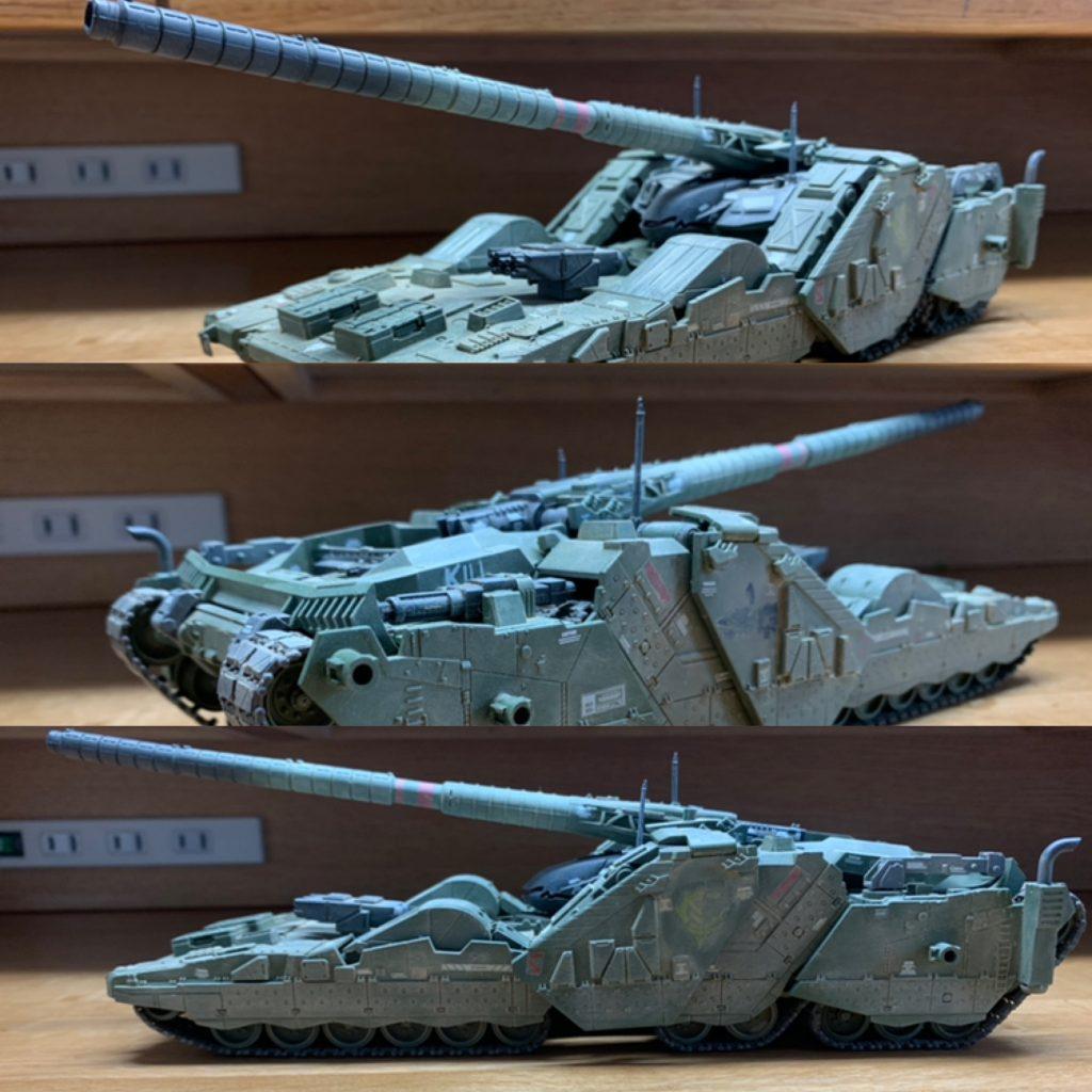 EX  YMT-05  ヒルドルブ(武装強化型) アピールショット1
