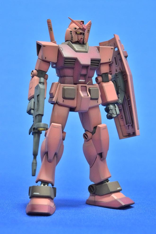 HGUC RX78/C.A キャスバル専用ガンダム アピールショット8