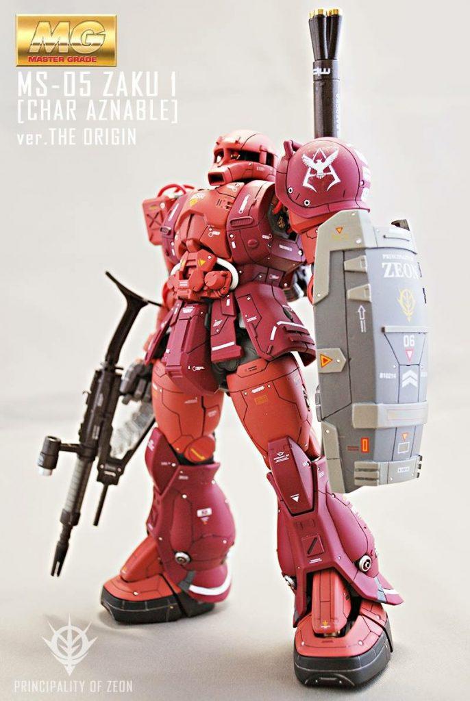 MG MS-05B シャア専用ザク1 ver.THE ORIGIN