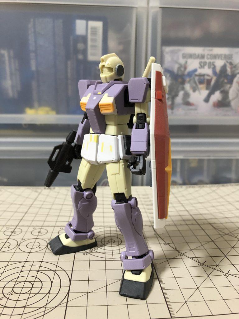 RGM-79 ジム 制作工程3