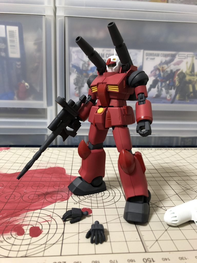RX-77-2 ガンキャノン 制作工程2