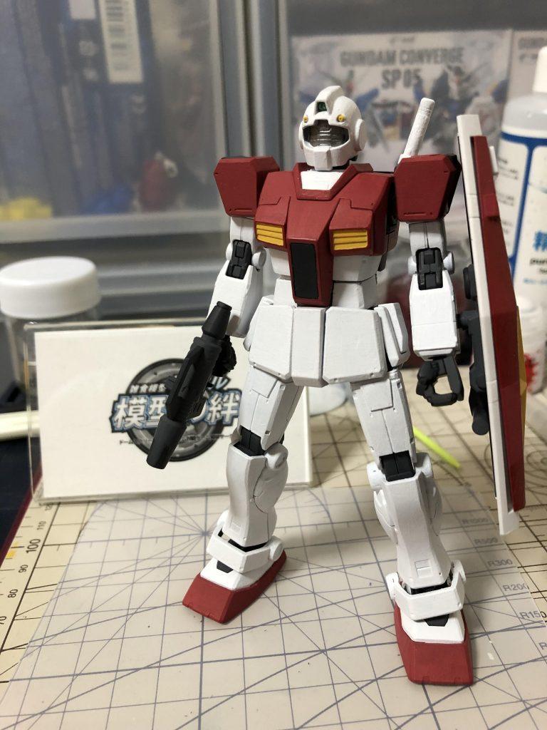 RGM-79 ジム 制作工程4