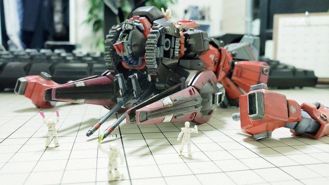 MSA-099 リックディアス 制作工程8
