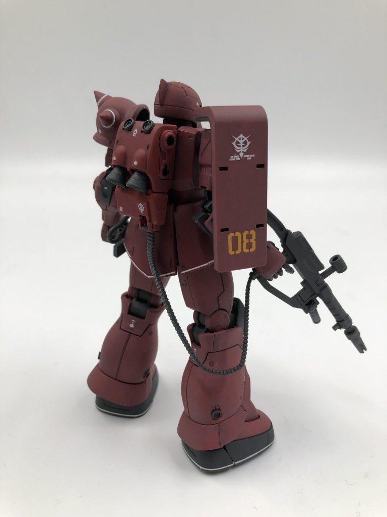 MS-05S シャア専用ザクI アピールショット1