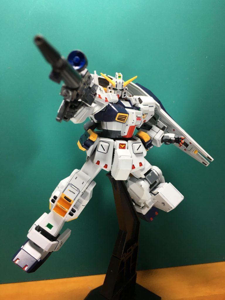 ガンダムTR-1 ヘイズル改 / Gパーツ[フルドド] アピールショット4