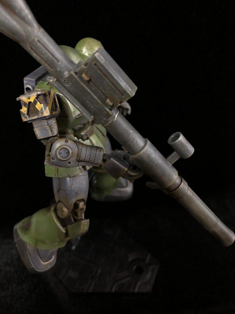 MS-05 ザクⅠ アピールショット2