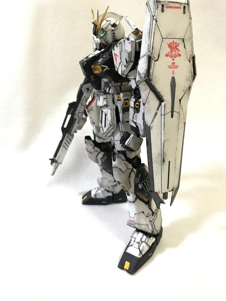 MG1/100 RX-93 νガンダム ver.KA ウェザリング アピールショット4